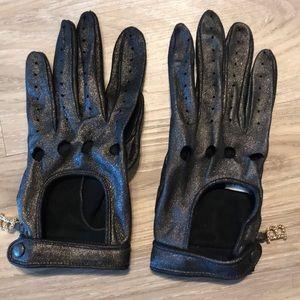 Blumarine racing gloves